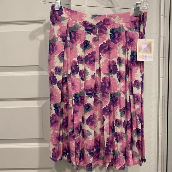 LuLaRoe Madison pleated skirt